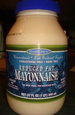 Is trader joe s reduced fat mayonnaise vegan